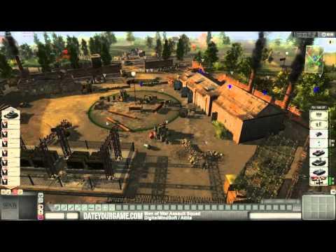 Men of War Assault Squad Multiplayer Gameplay |