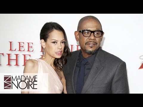 Forest Whitaker's Wife's Thin Appearance At The Oscars Raises Questions  MadameNoire