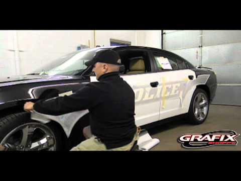 2013 Dodge Charger or any vehicle application of graphics kit for Fender and Front Door Kit App.mov