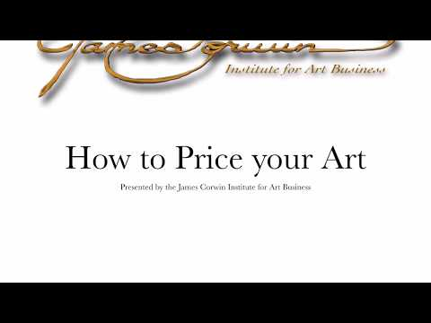 How to Price your Art  - Art Business