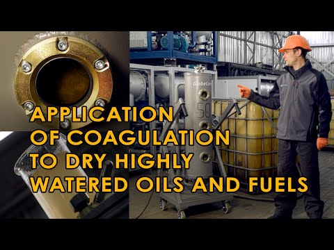 Purification Of Oil With Very High Water Content