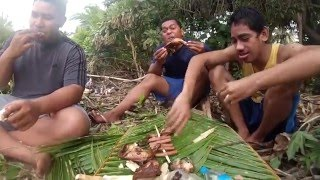 Tonga LIfe  Cooking and Matatahi