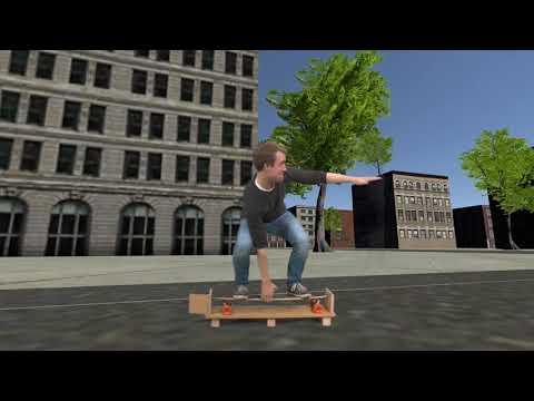 Hochschule Osnabrück: Virtual Reality Longboard Simulator