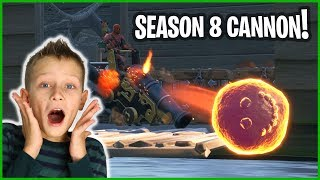 SEASON 8 UPDATES AND THE NEW CANNON!