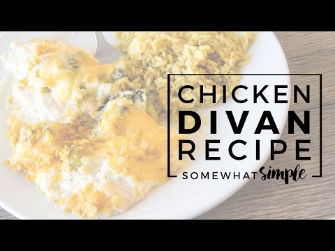 Recipe for Chicken Divan – An Easy, Delicious Dinner!