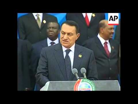 Remarks by Hu, Ethiopia and Egyptian presidents