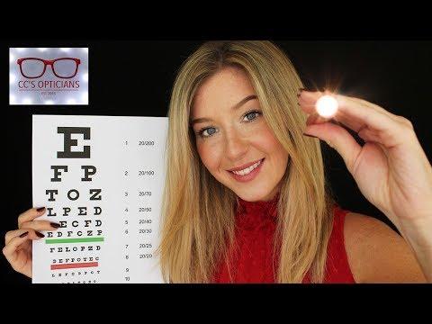 [ASMR] Eye Exam With Light Test