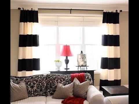 шторы черно белые для спальни