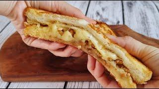쉽고 정말 맛있는 치즈듬풍 토스트 만들기   간단 식빵…
