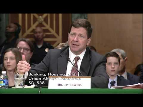 Menendez Questions Jay Clayton, Clayton Refuses to Answer