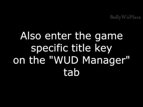 Wii U] Extracting WUD Files using Uwizard