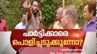 Subcollector tries to clear encroachments, CPM workers hurl abuses | News Hour 12 Apr 2017