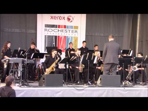 Hilton High School Jazz Ensemble - Undecided - Rochester, NY - June 19, 2015
