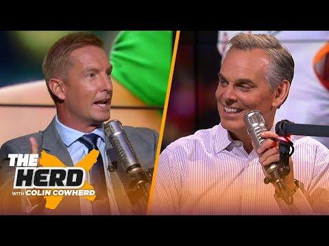 Joel Klatt talks Heisman race, Trevor Lawrence, Texas, Michigan, WK 1 upsets & more | CFB | THE HERD