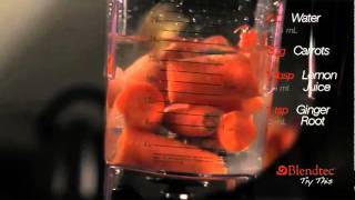 Рецепт морковного сока на блендере