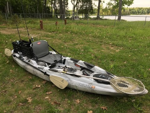 My Old Town Predator MX Kayak Setup Outfitted For Fishing (Plus My Crate Mod)