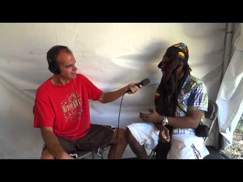 Steel Pulse with HPR's Dave Lawrence -Honolulu, Hawaii June 2012