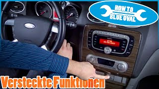 Hidden features - GEM module, Coming Home etc. for Ford Focus | Fiesta | Mondeo | C-MAX | Kuga