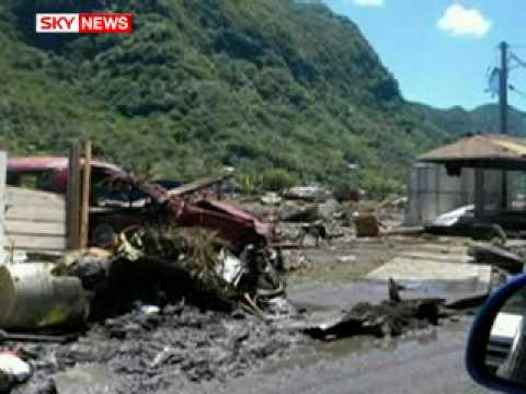 South Pacific Tsunami Disaster Leaves More Than 100 Dead