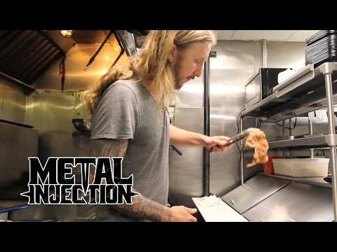 Taste Of Metal - THE HAUNTED's Ola Englund Cooks Korean Chap Chae! | Metal Injection