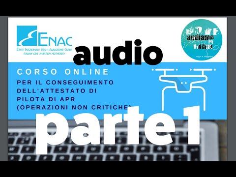 Download #ENAC #CorsoOnline per attestato pilota APR leggiamolo insieme - parte 1