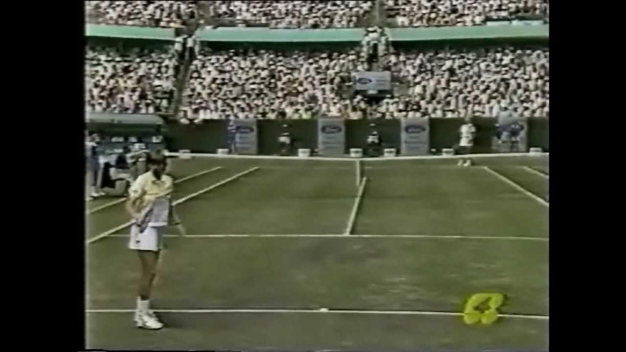 Hana Mandlikova vs Martina Navratilova 1987 Australian Open 1 3