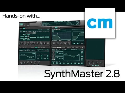 KV331 Audio SynthMaster 2.8: Hands-on with Computer Music magazine