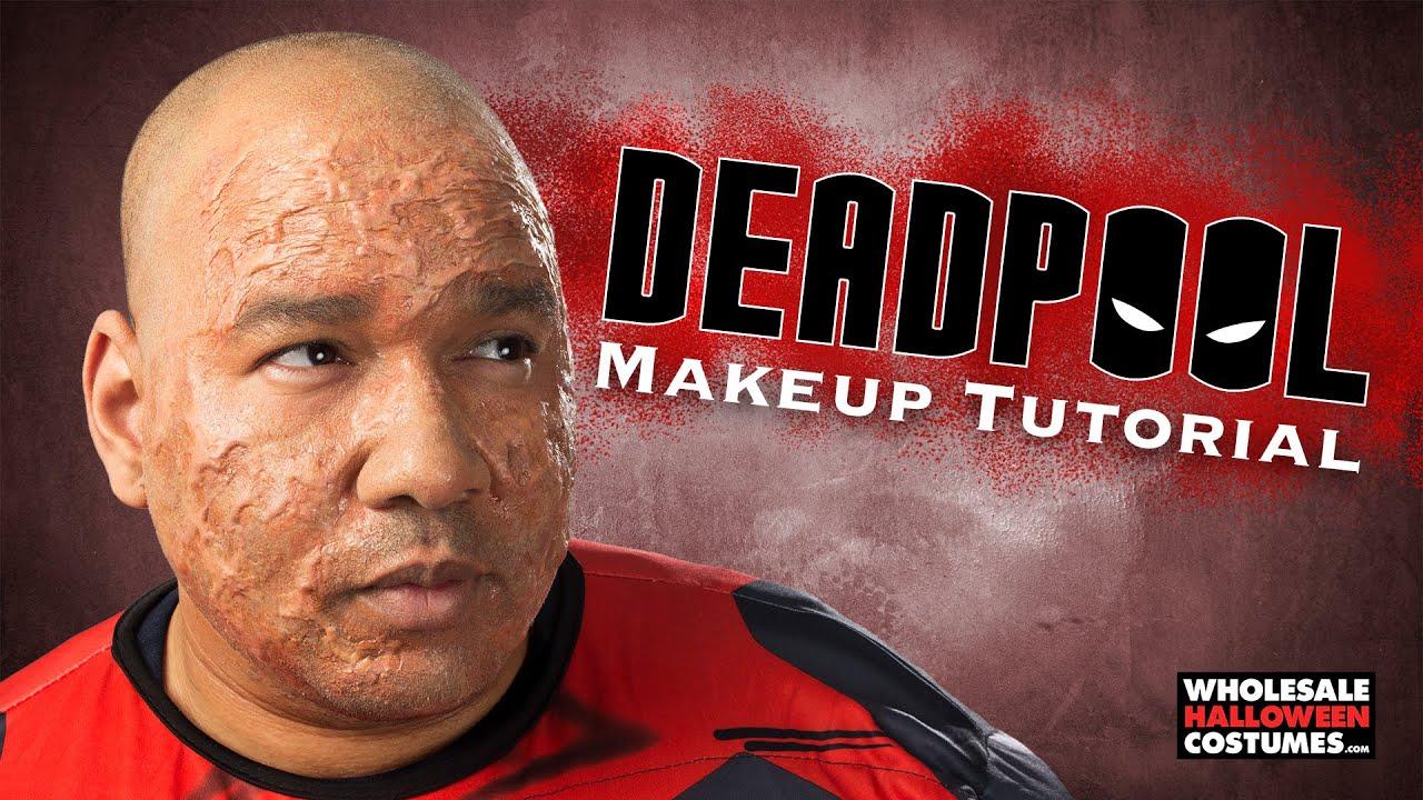 Deadpool makeup