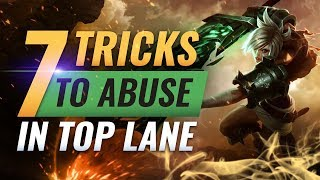 7 BEST Tips To SOLO Hard Carry as Top Lane - League of Legends Season 9