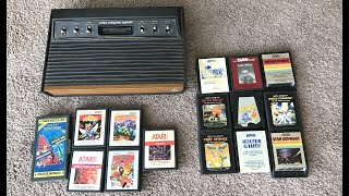 homepage tile video photo for LastHumansTech: Atari 2600 Light Sixer And Games Unboxing