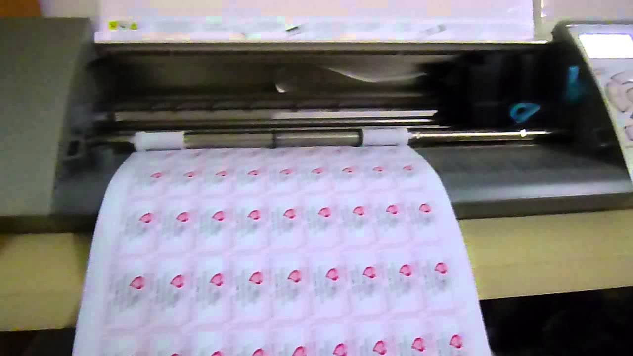 Silhouette Cameo Sticker Cutter Machine Youtube