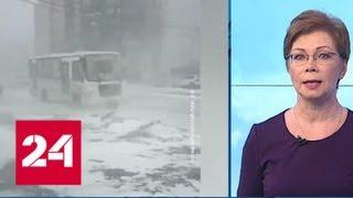 """""""Погода 24"""": циклон, пришедший с Германии, испортил погоду на Русской равнине - Россия 24"""