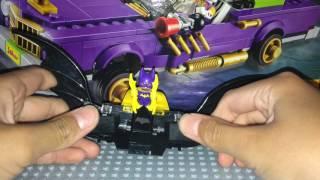 Custom Lego Batman Movie Wave 2: Ultimate Batmobile! Review