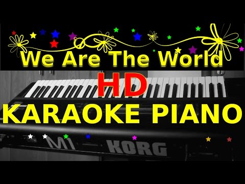 We Are The World KARAOKE PIANO