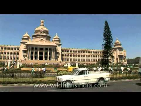 Karnataka's Legislative assembly building, Bangalore