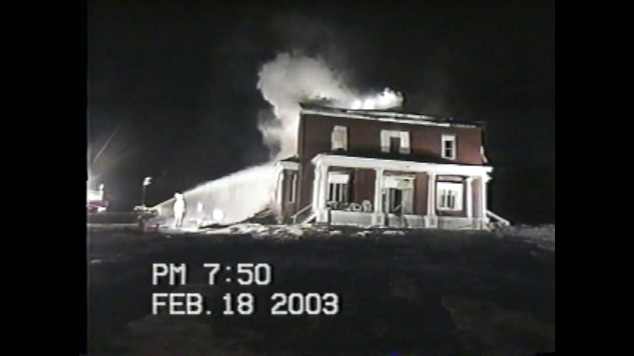 Savoy Hotel fire Scenes  2-18-03