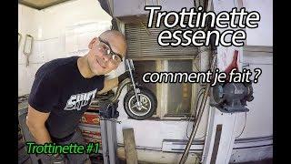 Trottinette à essence, comment je la fabrique ? / partie #1