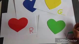 Insegnare i colori ai bambini: flashcard sensoriali DIY