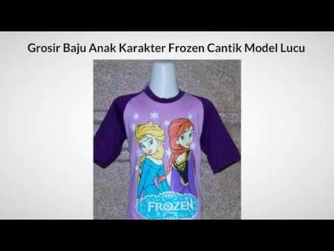 085759938680 Grosir Baju Anak Karakter Frozen Cantik