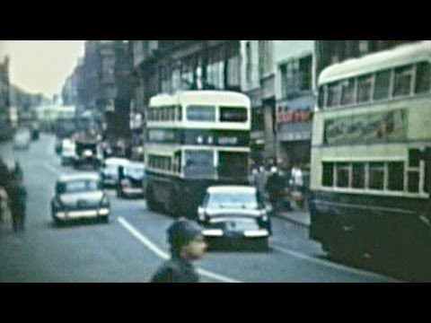 Derby Carriage and Wagon Works Annual show 1960 (rare cine film footage of Derby)
