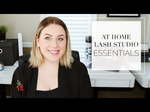 Equipment You Need To Start Your At Home Lash Studio // 10 Tips // PT2