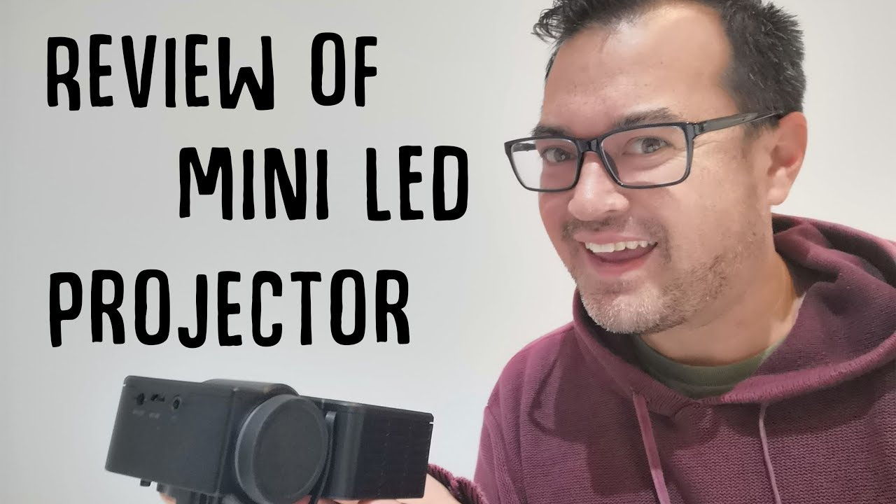 8500f7fedcdd Unboxing Mini LED Projector bought on ebay for  41.95 AUD - YouTube