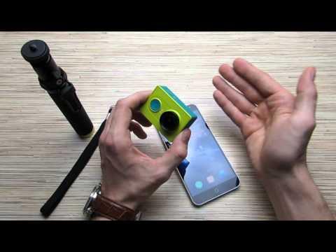 Xiaomi Yi распаковка и обзор пригодной для большинства экшн-камеры с Aliexpress!!!