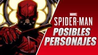 10 Personajes que podrían estar en Spider-Man PS4