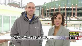 Sports Medicine vs. Traditional Healthcare | Fox 11 Fieldhouse | Aurora BayCare Orthopedics