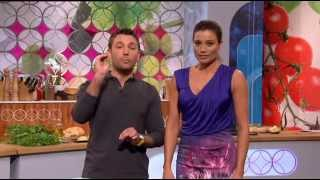 Melanie Sykes - Let's Do Lunch With Gino and Mel 13-07-2012