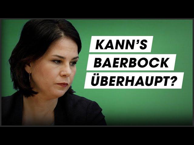 Die Wahrheit über Annalena Baerbock