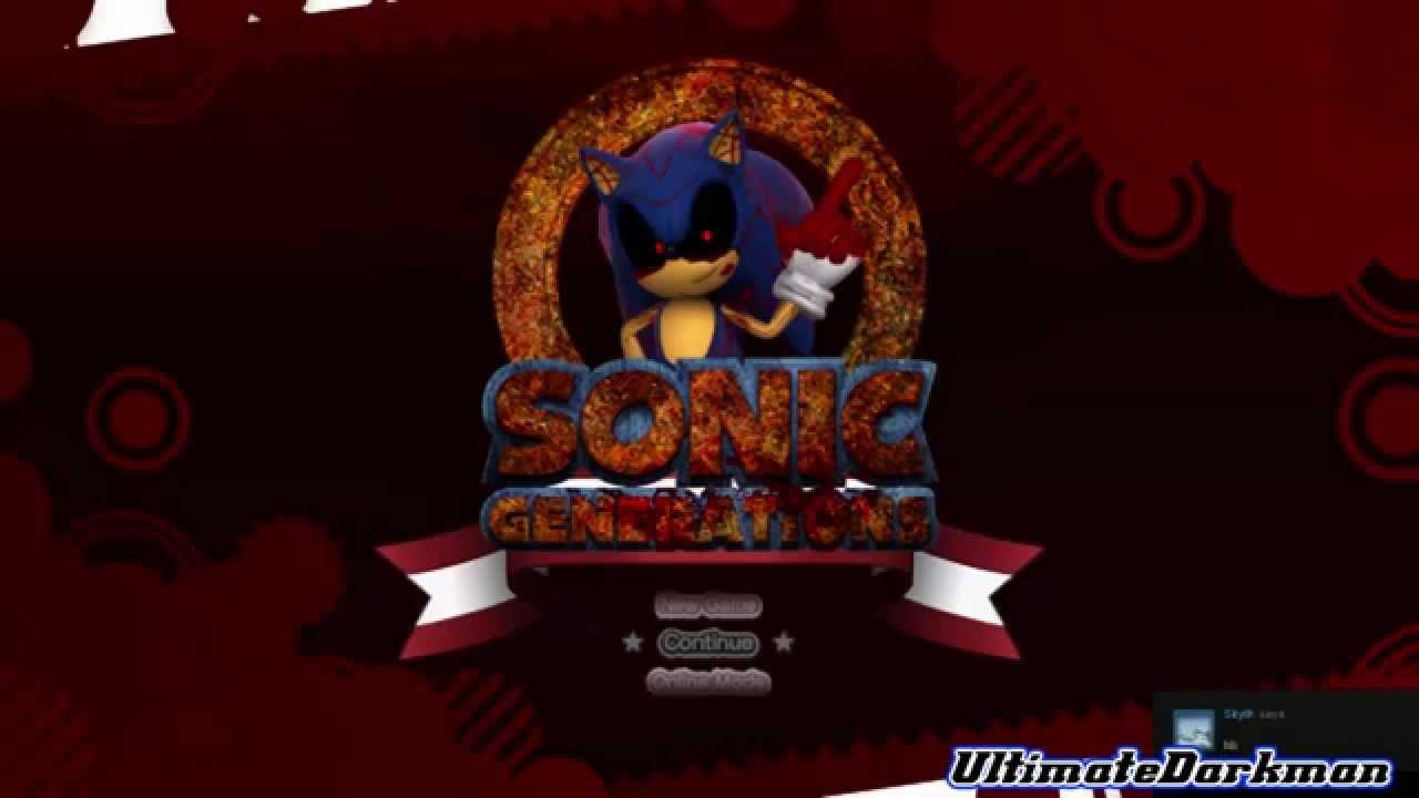 Скачать моды на sonic generations sonic exe
