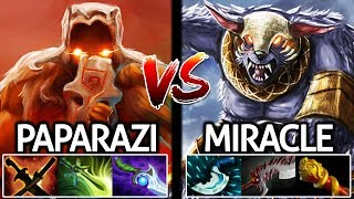 Miracle Ursa VS Paparazi Juggernaut Battle Carry Agi Pro Gameplay 7.21 Dota 2