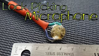 (1338) Experiment: Piezo Crystal Lock Picking Microphone